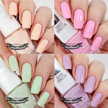 IsaDora Spring 2015 nail art by Bella Seizethenail