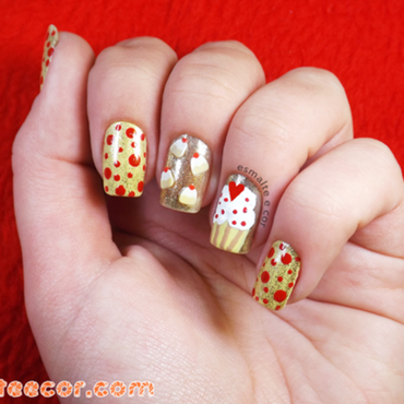Inspired by Candies!  nail art by Gabriela Becker
