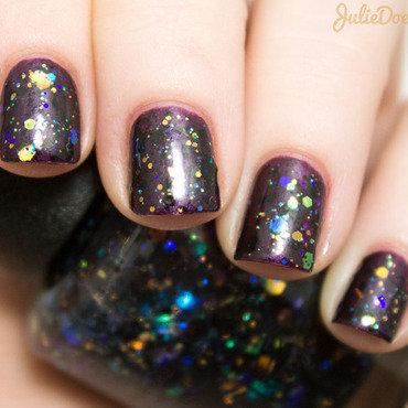 OPI Comet in the Sky Swatch by Julie