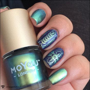 Vegan nail art by CrazyPolishes (Dimpal)