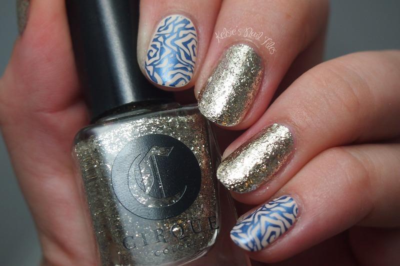 Mirror Mirror nail art by Kelsie