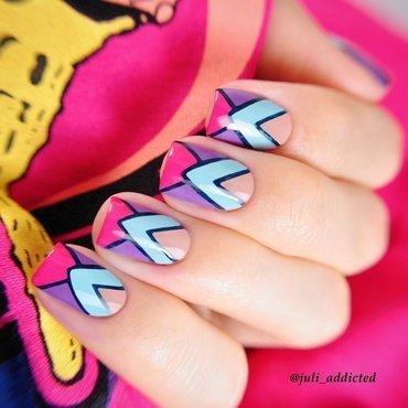#58 nail art by Juli