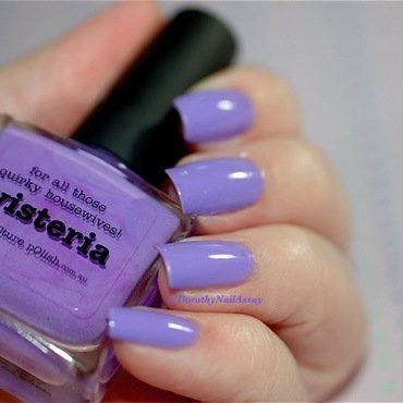piCture pOlish Wisteria Swatch by Dorothy NailAssay