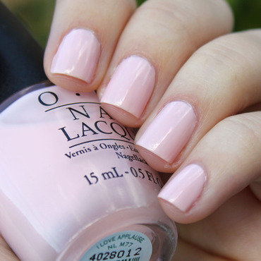 OPI I Love Applause Swatch by Moriesnailart