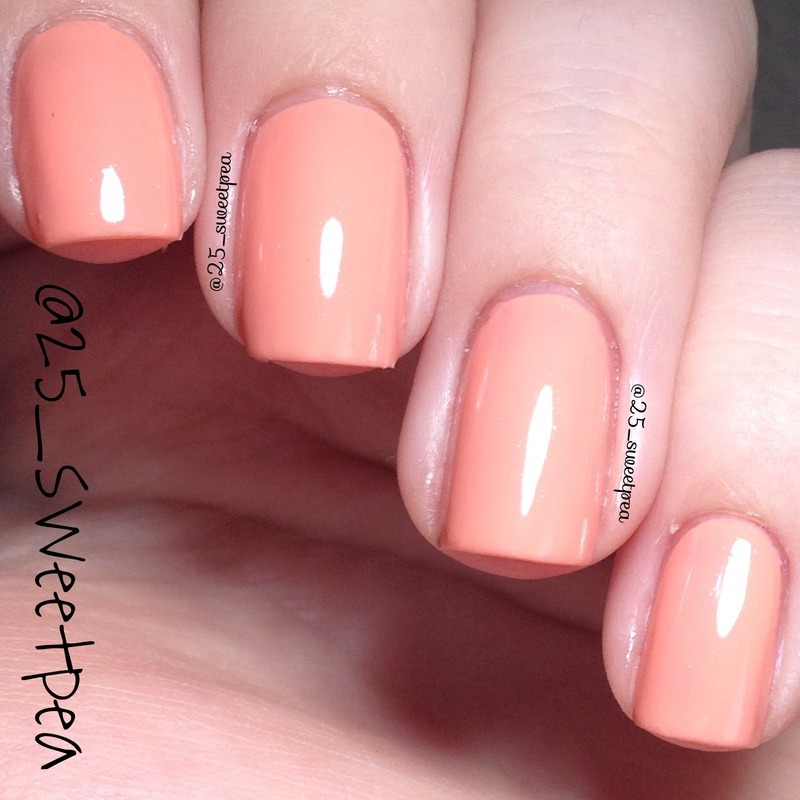 Nicole by OPI I'll Take The Salmon Swatch by 25_sweetpea