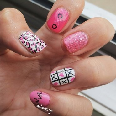 xoxo nail art by melisa viriya
