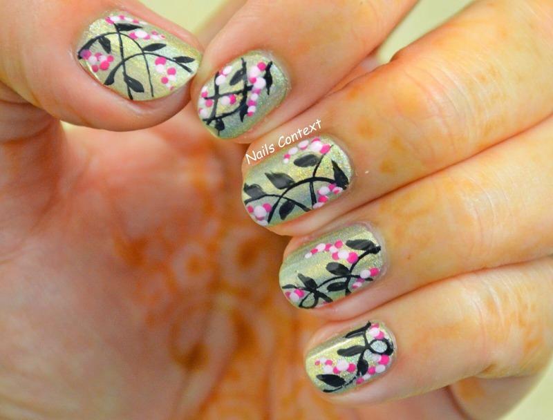 Floral Fun nail art by NailsContext