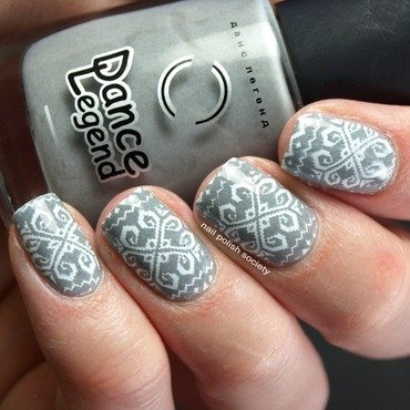 Far From The Winter Blahs nail art by Emiline Harris