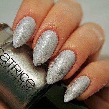 Dry brush effect nail art by Jane