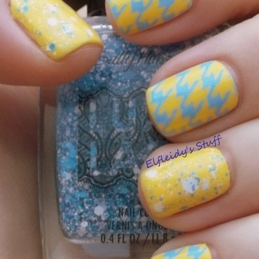 Springy nail art by Jenette Maitland-Tomblin