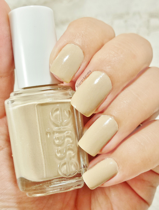 Essie Cocktails And Coconuts Swatch by klo-s-to-me