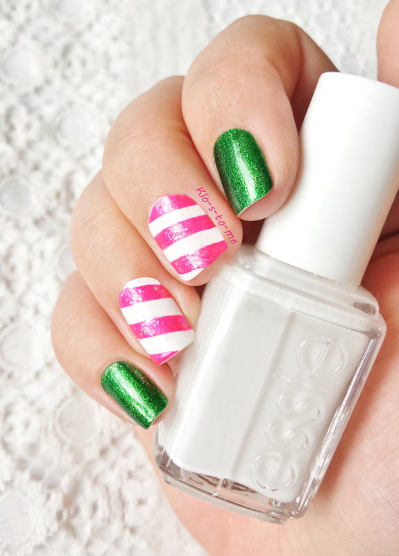 Holiday Candy nail art by klo-s-to-me
