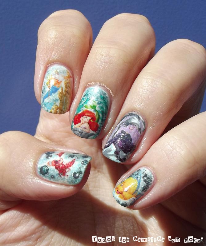 Little Mermaid nail art by Maria - Nailpolis: Museum of ...