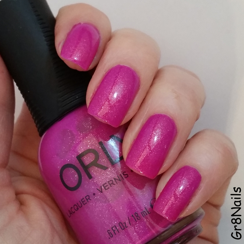 Orly Hot Tropics Swatch by Gr8Nails