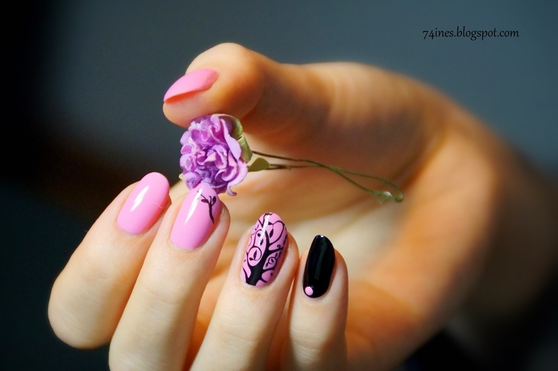 Lithium nail art by 74ines