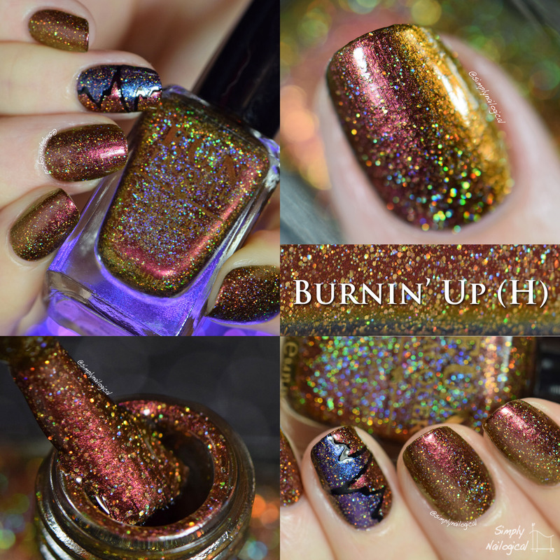 Fun Lacquer Burnin' Up (H) Swatch by simplynailogical