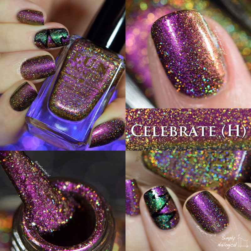 Fun Lacquer Celebrate (H) Swatch by simplynailogical
