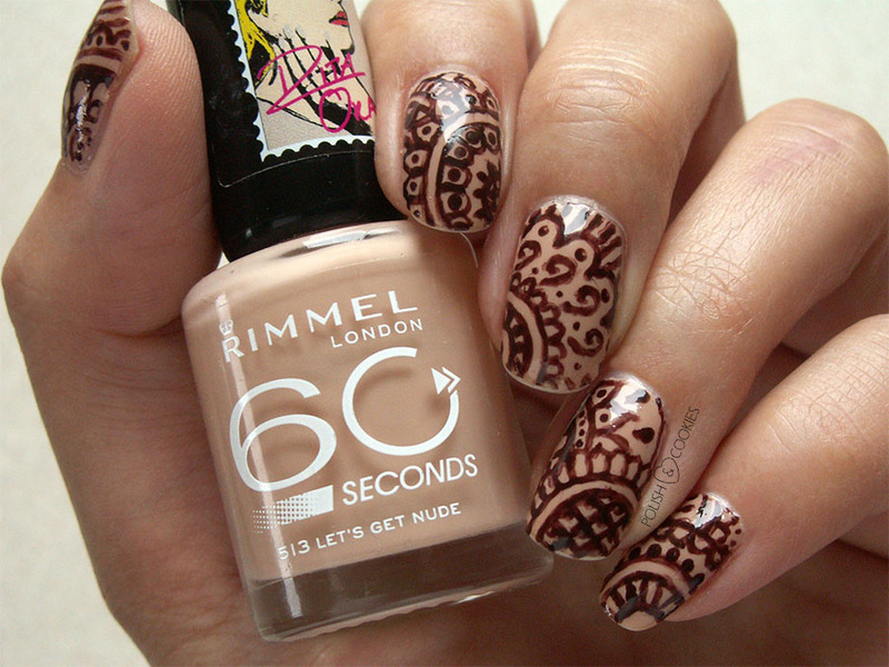 Henna Nail Art By Polishcookie Nailpolis Museum Of Nail Art
