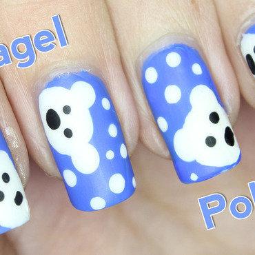 Polar Bear Nails nail art by Nagel Polish