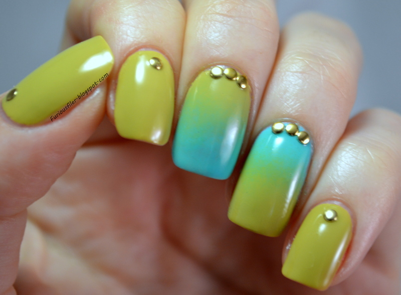 Always look on the bright side! nail art by Furious Filer