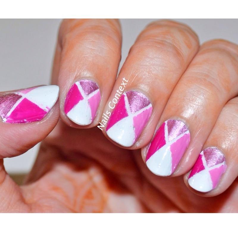 Pinkalicious  nail art by NailsContext