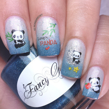 Born pretty store panda decals nails thumb370f