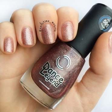 Dance Legend 505 DecoDance Swatch by nailstime_moscow