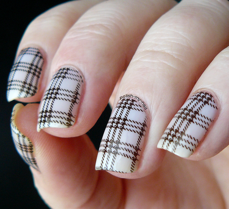 A touch of simplicity. nail art by Ewlyn