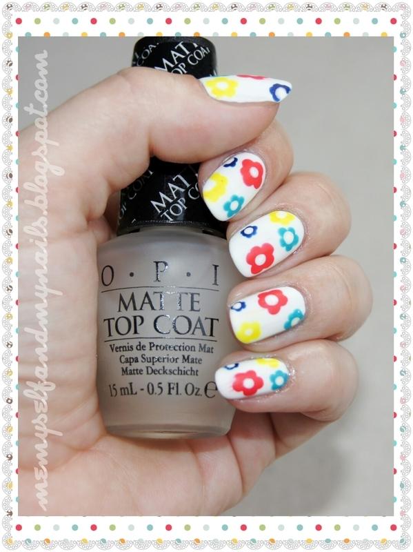Lazy Meadow nail art by ELIZA OK-W