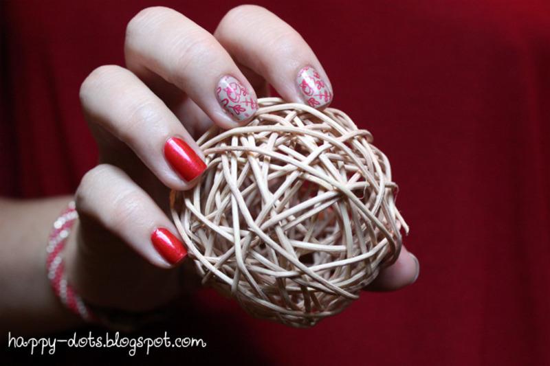 Cute flowers nail art by Zosia