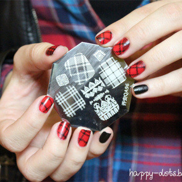 Rock with me! nail art by Zosia