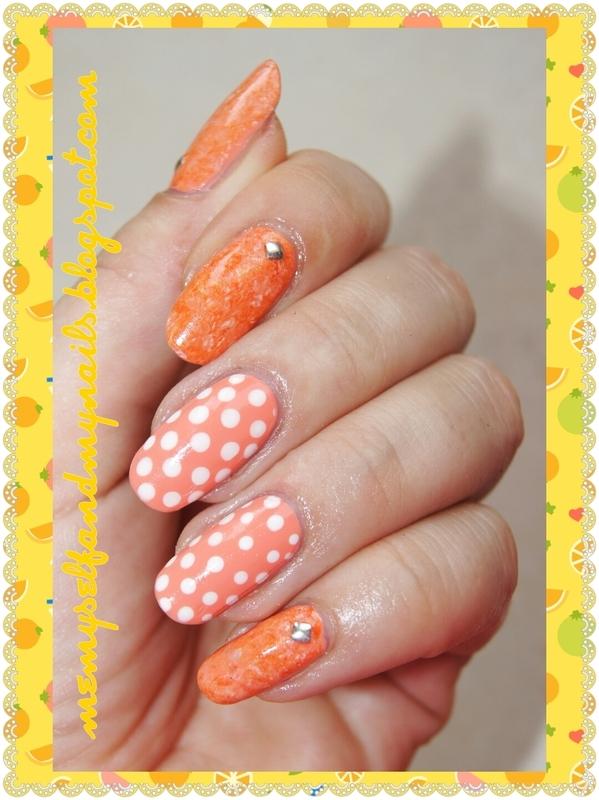 Sunny stones nail art by ELIZA OK-W