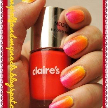 Summer's farewell nail art by ELIZA OK-W