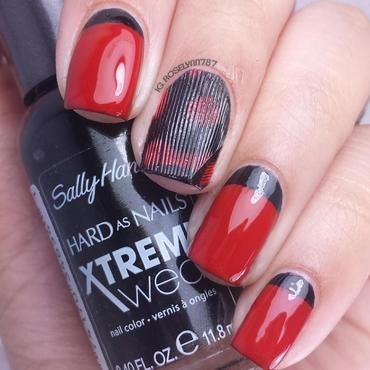 Pretty Little Liars nail art by Rose Mercedes