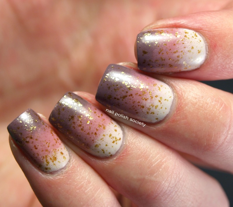 Neapolitan Ice Cream With Caramel nail art by Emiline Harris