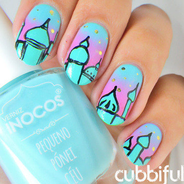 Moscow skyline nails thumb370f
