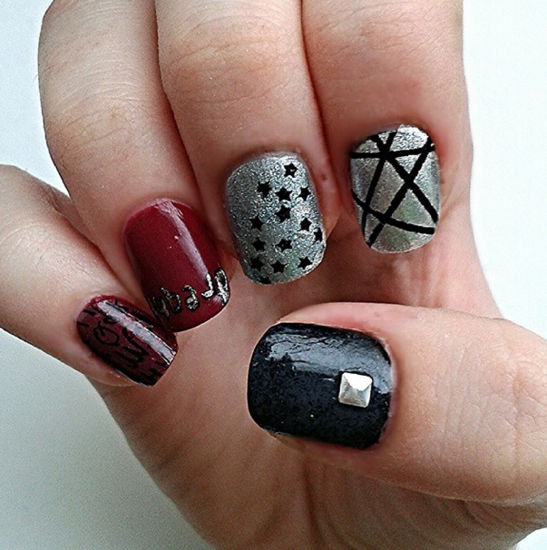 Design 3/8 nail art by Neve212