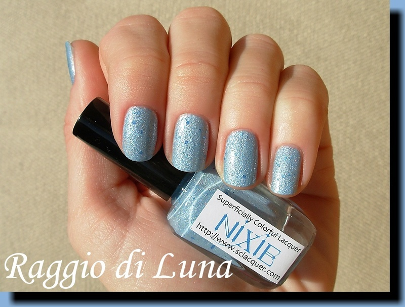 Superficially Colorful Lacquer Nixie Swatch by Tanja