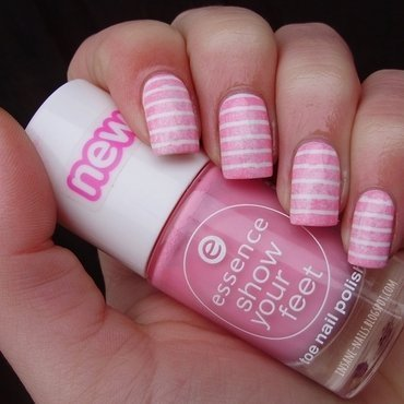 Pink sponged stripes 4 thumb370f
