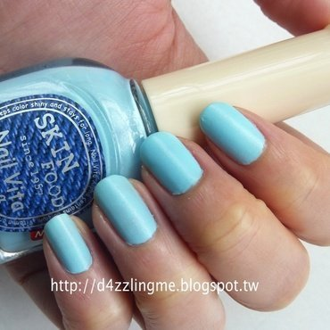Skinfood Nail Vita Alpha ADN02 Swatch by D4zzling Me