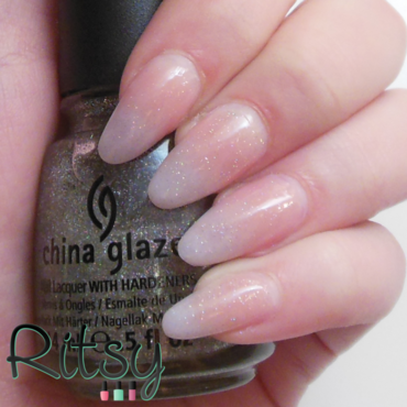 China Glaze Fairy dust Swatch by Ritsy NL