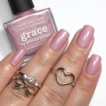 piCture pOlish Grace Swatch by Blackqueennailsdesign