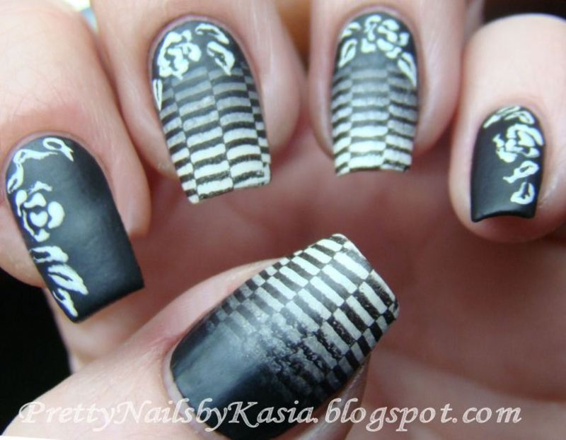 Black & White Nails nail art by Pretty Nails by Kasia