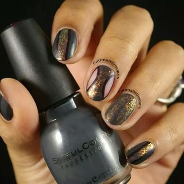 Out Of This World  nail art by Fatimah