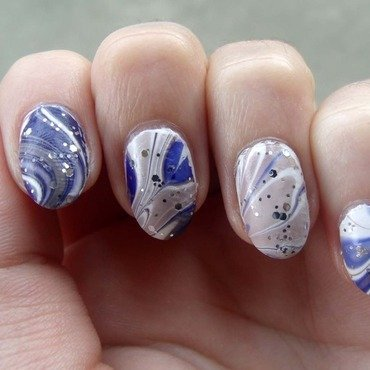 Winterize nail art by Toria Mason