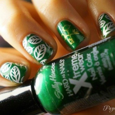 the secret garden nail art by PaznokcioweLovee