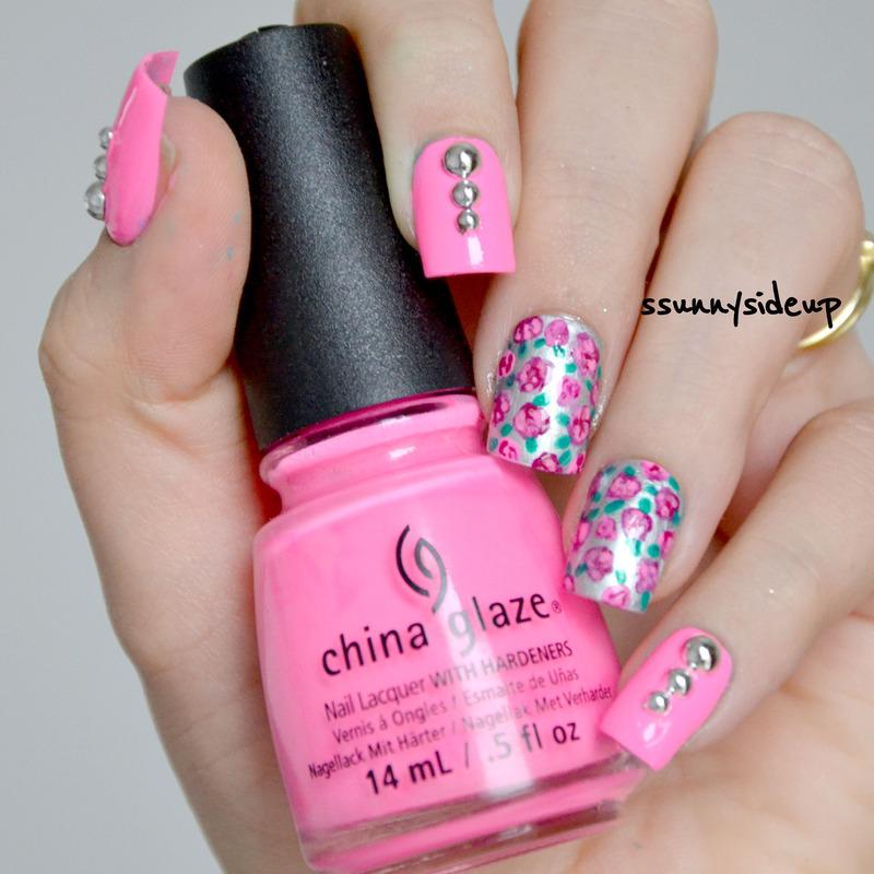 Sping awakening nail art by ssunnysideup (Sabrina)