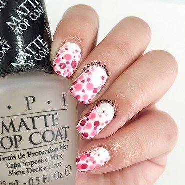 Matte Dotticure nail art by Jonna Dee