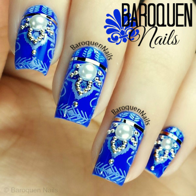 Majestic nail art by BaroquenNails