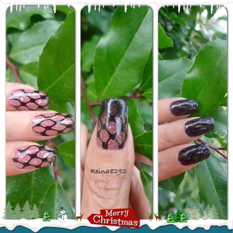 Transition Polish nail art by Reina